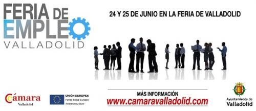 Feria de empleo en valladolid 24 y 25 de junio de 2015 for Oficinas de empleo valladolid